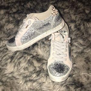 Real fur Dolce vita sneakers